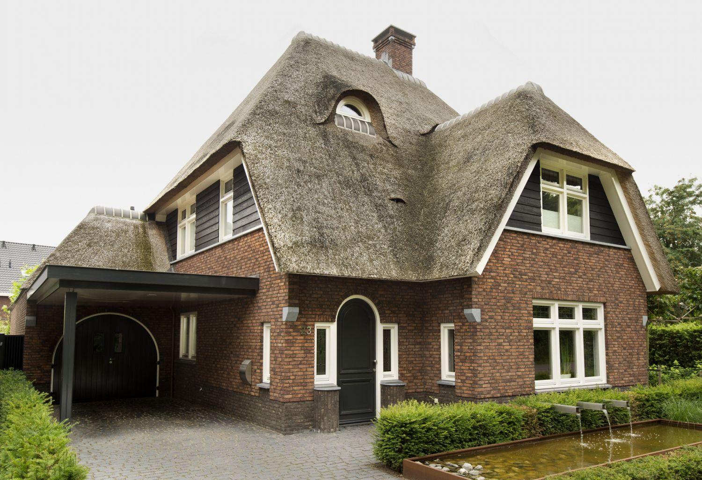 rietgedekte villa erp architect
