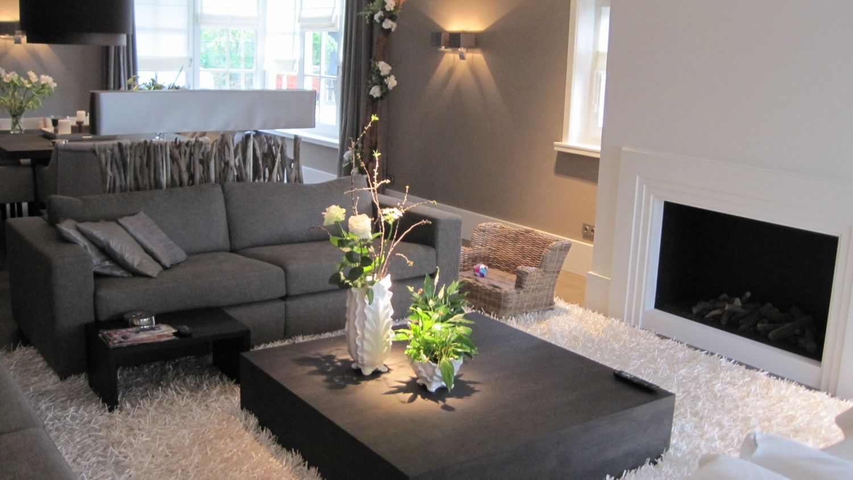 woonhuis stijlvol woonkamer