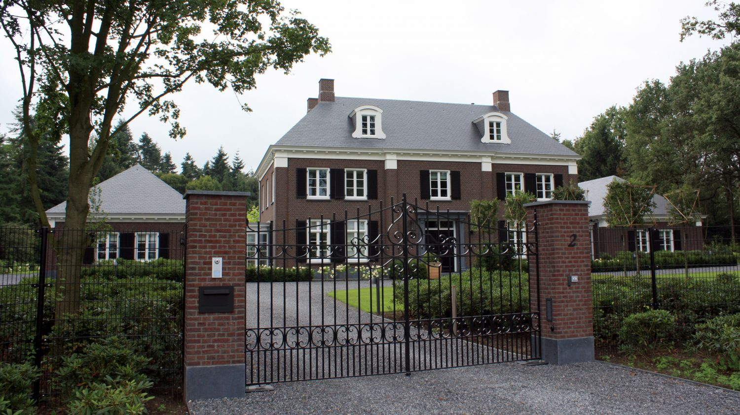 klassiek herenhuis villa architect drunen