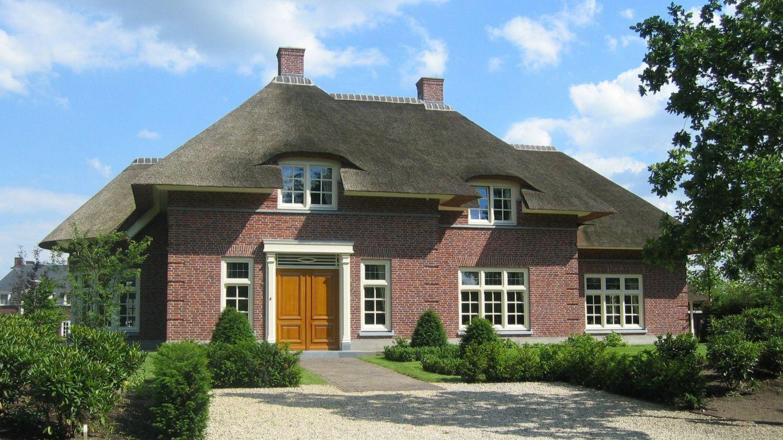 rietgedekte villa uden architect